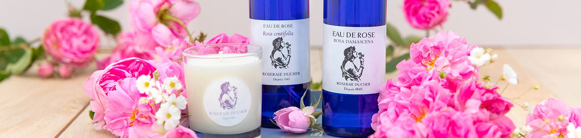 Products made from rose to the Rosarian Ducher